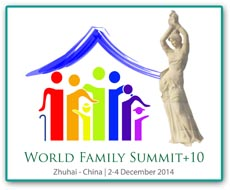 World Family Summit +9 Logo